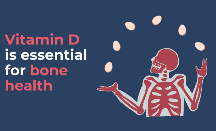 Vitamin D is essential for bone health